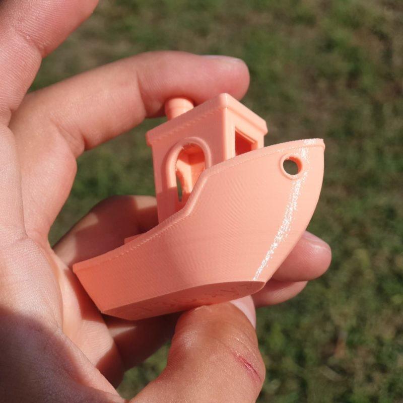 Rosa 3d coral PLA filamento 3D Portugal impressora 3d