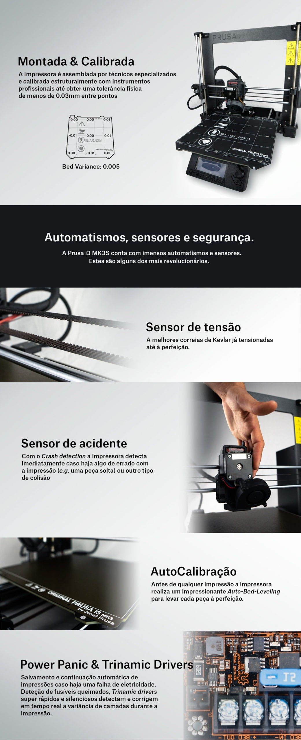 Impressora 3D já montada e calibrada em Portugal