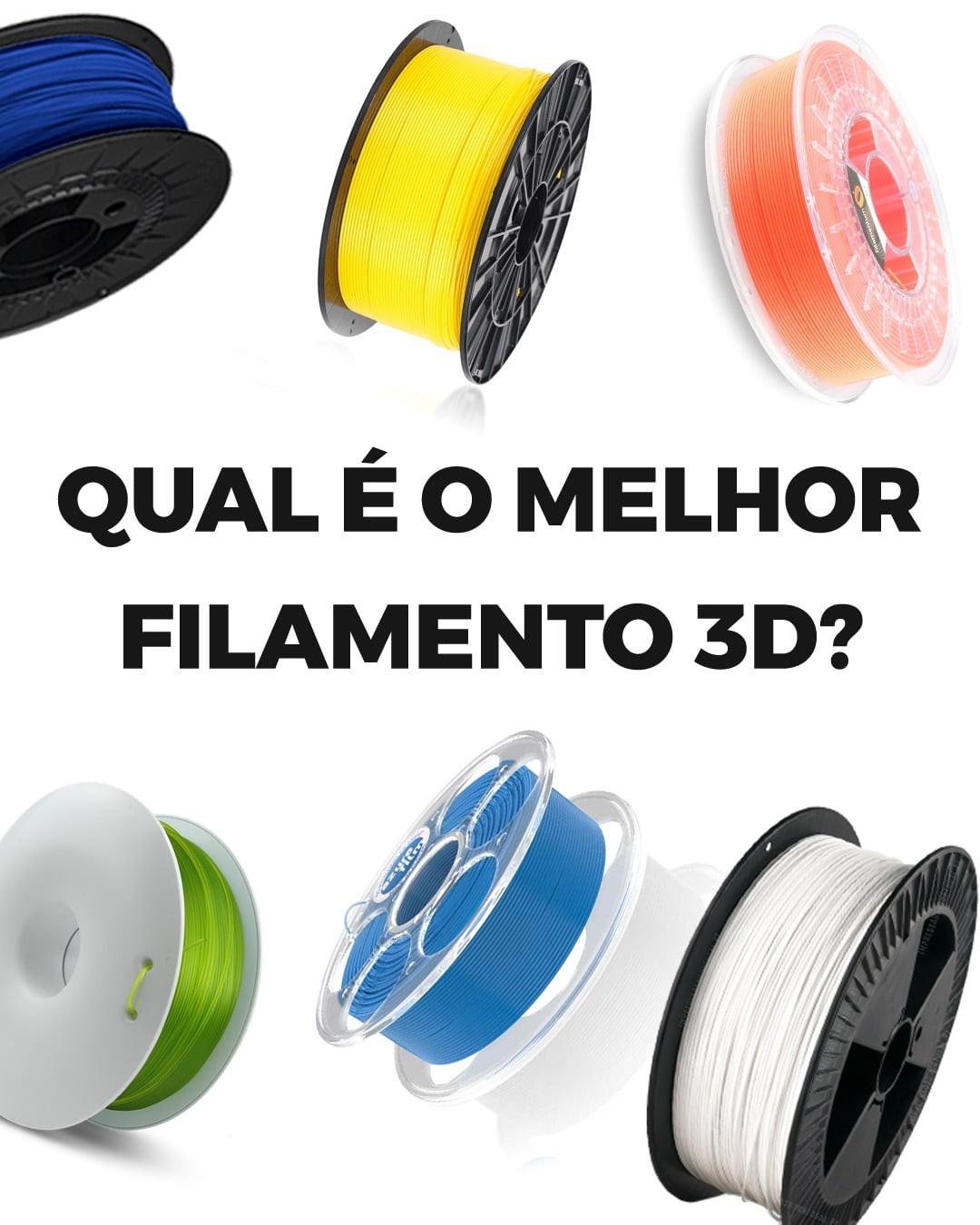 Qual é o melhor filamento 3D?