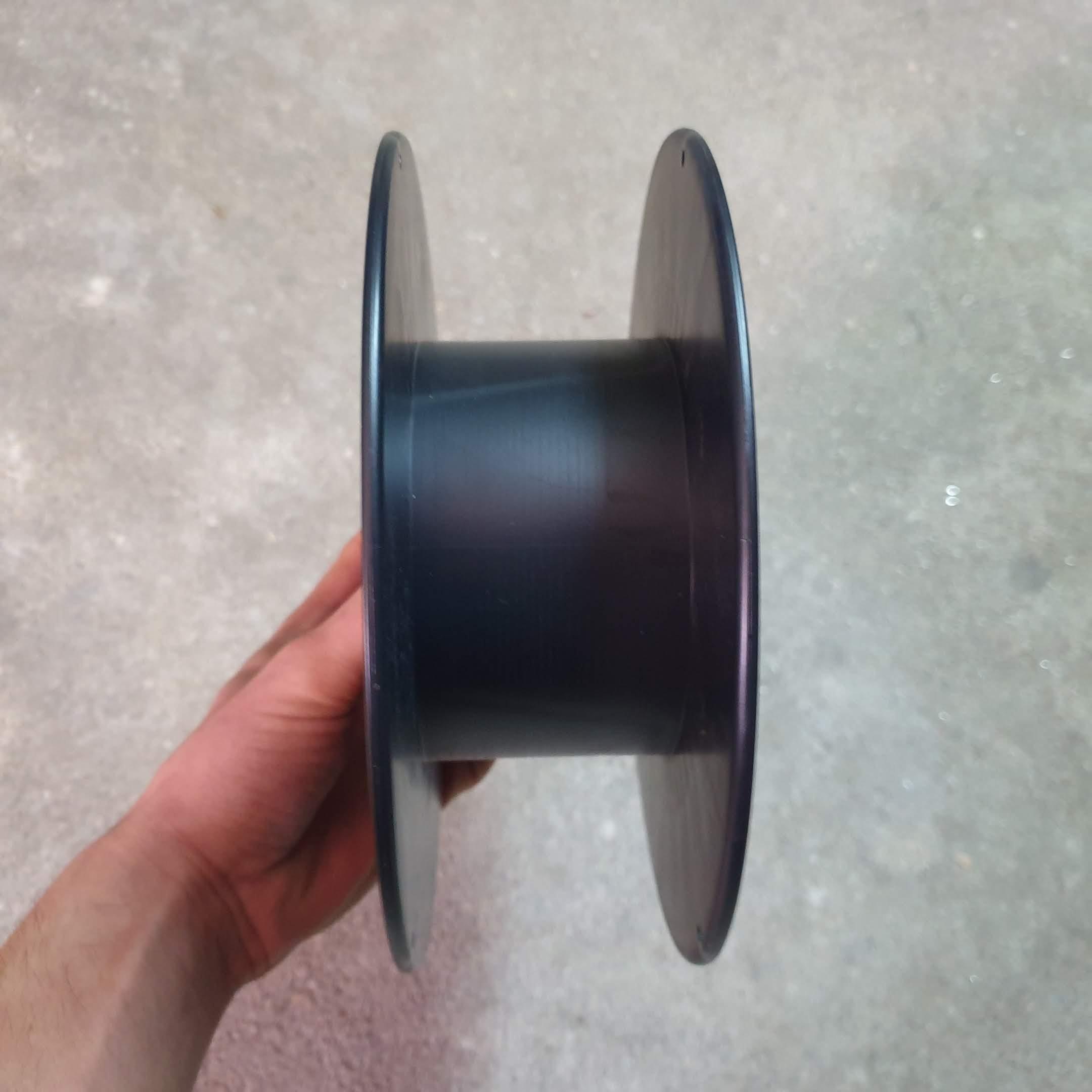 Bobina de filamento 3D frente